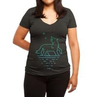 Call of the Wilderness - womens-deep-v-neck - small view