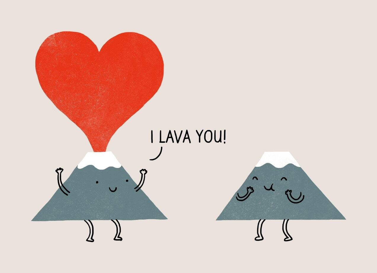 I Lava You By Ilovedoodle Threadless