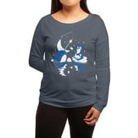 Frozen Fire - womens-long-sleeve-terry-scoop - small view