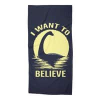 Believe in Nessie - beach-towel - small view
