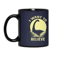 Believe in Nessie - black-mug - small view