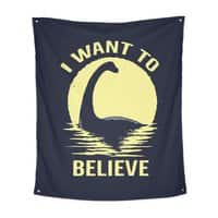 Believe in Nessie - indoor-wall-tapestry-vertical - small view