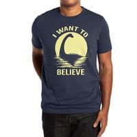 Believe in Nessie - mens-extra-soft-tee - small view