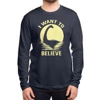Believe in Nessie - mens-long-sleeve-tee - small view