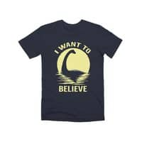 Believe in Nessie - mens-premium-tee - small view