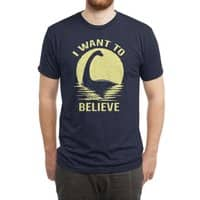 Believe in Nessie - mens-triblend-tee - small view