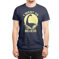 Believe in Nessie - mens-regular-tee - small view