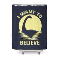 Believe in Nessie - shower-curtain - small view