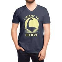 Believe in Nessie - vneck - small view