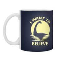 Believe in Nessie - white-mug - small view
