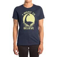 Believe in Nessie - womens-extra-soft-tee - small view