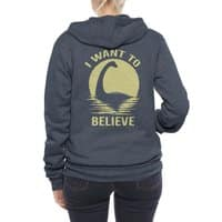 Believe in Nessie - zipup - small view