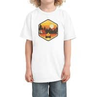 RETRO CAMPING - kids-tee - small view