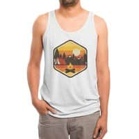 RETRO CAMPING - mens-triblend-tank - small view