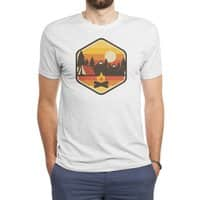 RETRO CAMPING - mens-triblend-tee - small view