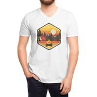 RETRO CAMPING - vneck - small view
