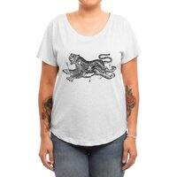 Tiger Skull - womens-dolman - small view