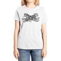 Tiger Skull - womens-extra-soft-tee - small view