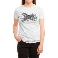 Tiger Skull - womens-triblend-tee - small view