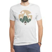 Mountain tent - mens-triblend-tee - small view