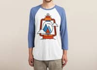 Camping - triblend-34-sleeve-raglan-tee - small view