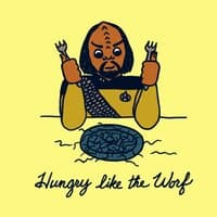 Hungry Like The Worf - small view