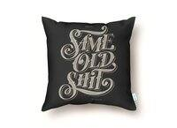 Same Old Shirt - throw-pillow - small view