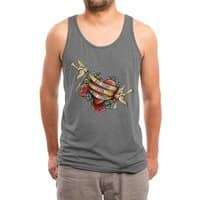 Not Today Satan - mens-triblend-tank - small view