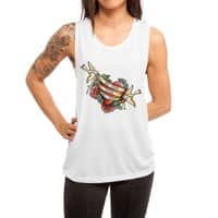 Not Today Satan - womens-muscle-tank - small view