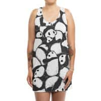 Lazy Day - womens-sublimated-tank-dress - small view