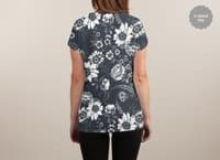 Bold Botanicals - womens-sublimated-v-neck - small view