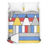 Mondrian's Duvet: Study #2 - small view