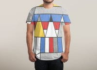Mondrian's Duvet: Study #2 - mens-sublimated-tee - small view