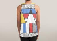 Mondrian's Duvet: Study #2 - sublimated-tank - small view