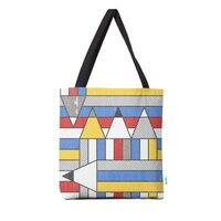 Mondrian's Duvet: Study #2 - tote-bag - small view