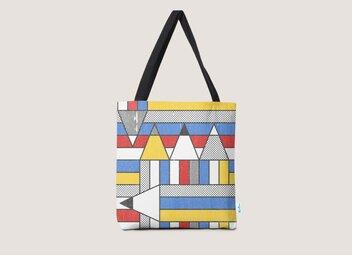Mondrian's Duvet: Study #2