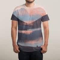 Adrift in the Mountains... - mens-sublimated-tee - small view