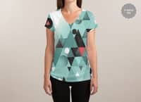 GeometRUG Abstract  - womens-sublimated-v-neck - small view
