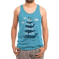 Whale of a Time - mens-triblend-tank - small view
