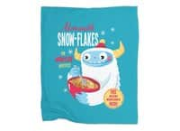 Abominable Snow-Flakes - blanket - small view
