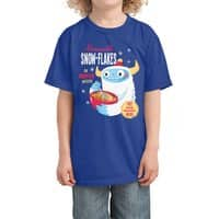 Abominable Snow-Flakes - kids-tee - small view