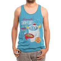 Abominable Snow-Flakes - mens-triblend-tank - small view