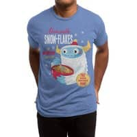 Abominable Snow-Flakes - mens-triblend-tee - small view