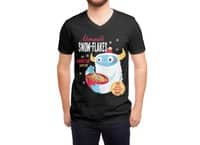 Abominable Snow-Flakes - vneck - small view