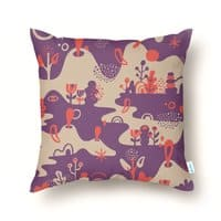 Surreal Land - throw-pillow - small view
