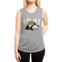 Comfy Bed - womens-muscle-tank - small view