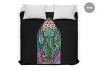 Cthulhu's Church - duvet-cover - small view