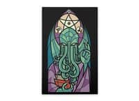 Cthulhu's Church - vertical-stretched-canvas - small view