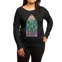 Cthulhu's Church - womens-long-sleeve-terry-scoop - small view