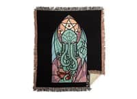 Cthulhu's Church - woven-blanket - small view